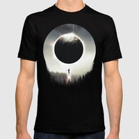 A Dream of Gravity Mens Fitted Tee Black SMALL