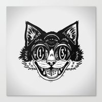 The Creative Cat Canvas Print