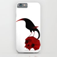 Bird And Skull iPhone 6 Slim Case