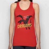 Dragons Unisex Tank Top