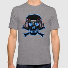 Truckload Of Nothing Sku… Mens Fitted Tee Tri-Grey SMALL