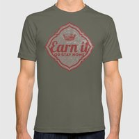 Earn It E-dub Mens Fitted Tee Lieutenant SMALL