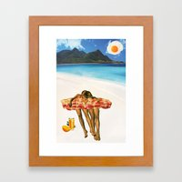 Unrequited Fantasies Framed Art Print