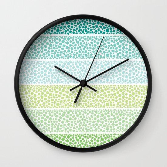 Zen Pebbles Wall Clock