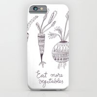 iPhone & iPod Case featuring Eat more vegetables by Ioana Avram