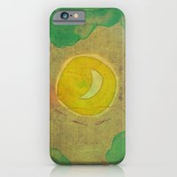 iPhone & iPod Case featuring citrus moon by Laura Moctezuma