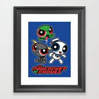 The Powerpuft Ghouls Framed Art Print