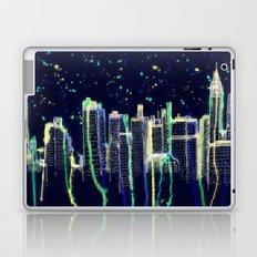 Dusk Falls Over Manhattan Laptop & iPad Skin
