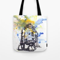 R2D2 from Star Wars Tote Bag