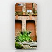 Industrial vegetation iPhone & iPod Skin