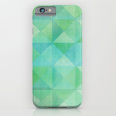 Green/Blue : Pattern iPhone 6 Slim Case