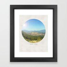 Travel often Framed Art Print