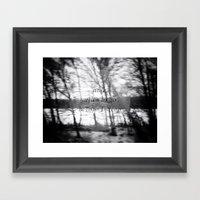 Robert Frost Framed Art Print