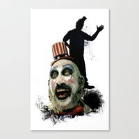 Captain Spaulding: Monster Madness Series Canvas Print
