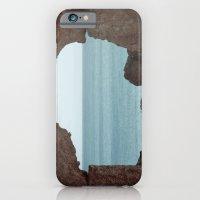 window to sea iPhone 6 Slim Case