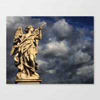 An Angel's Wrath Canvas Print