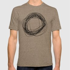 Cs Mens Fitted Tee Tri-Coffee SMALL