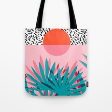 Whoa - Palm Sunrise Sout… Tote Bag