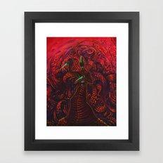Malebolge Framed Art Print