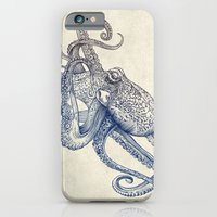 iPhone Cases featuring Octo Flow by Rachel Caldwell