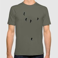 Birds Mens Fitted Tee Lieutenant SMALL