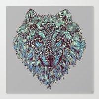 Wolf (Lone) Canvas Print