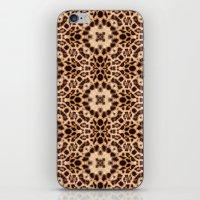 Leopard Kaleidoscope Wild Animal Print iPhone & iPod Skin