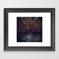 Deepwater Framed Art Print