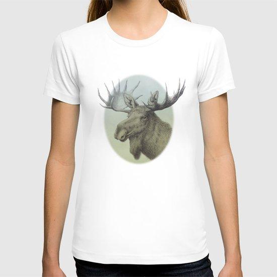 Moose head elk T-shirt