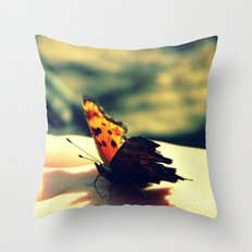 Butterfly Kisses 2 Throw Pillow