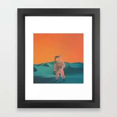 Houston Whats Your Problem? Framed Art Print