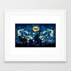 Starry Knight IPhone 4 4… Framed Art Print