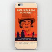 Once Upon A Time In The West Poster: Harmonica iPhone & iPod Skin