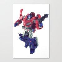 The Last Prime Canvas Print