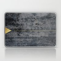gOld triangle Laptop & iPad Skin