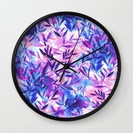 Wall Clock - Changes Purple - Jacqueline Maldonado