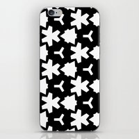 Weizigt Black & White iPhone & iPod Skin
