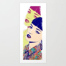 One in the Same Art Print