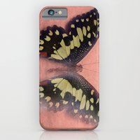 Vintage Butterfly 3 iPhone 6 Slim Case