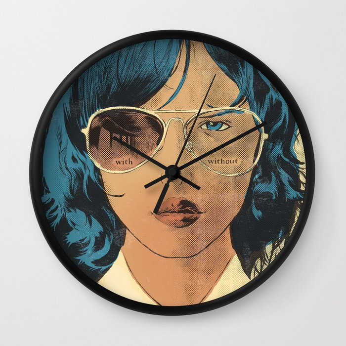 with without wall clock by se or salme society6