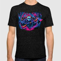 FRIDAY THE 13TH: FORCEFUL ENTRY Mens Fitted Tee Tri-Black SMALL