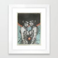 Nymphs (Ext) Framed Art Print