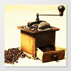 Coffee Grinder Canvas Print