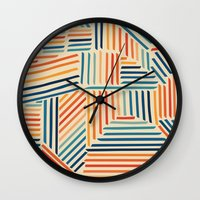Strypes Wall Clock