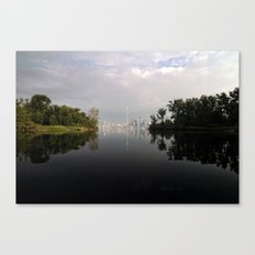 Sunfish Cut Canvas Print