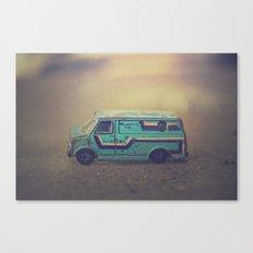 delightful van Canvas Print