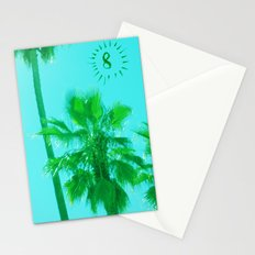 palm tree number 8 Stationery Cards