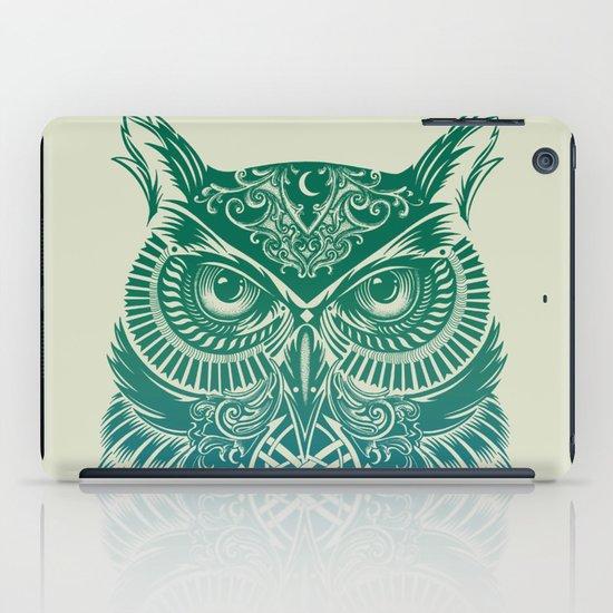 Warrior Owl iPad Case