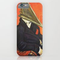 iPhone & iPod Case featuring Baron Pyramid Head by Hillary White