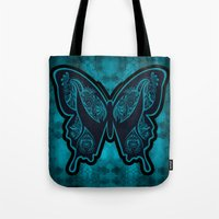 Henna Butterfly No. 6 Tote Bag